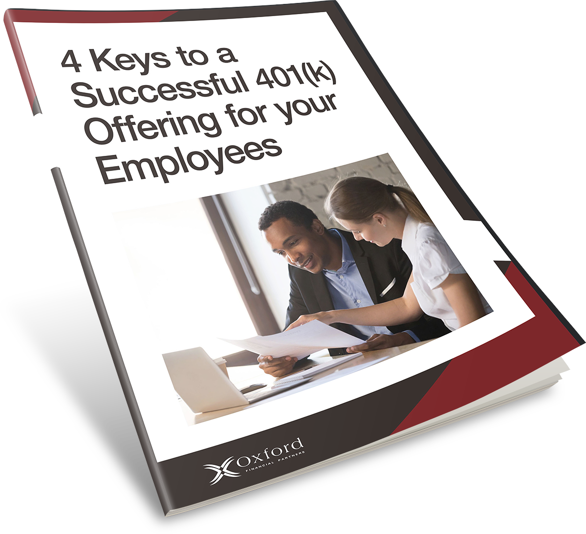 Download your free guide 4 keys to a successful 401k offering Cincinnati, Ohio, Oxford Financial Partners