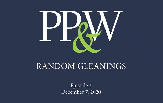 Random Gleanings: December Update Thumbnail