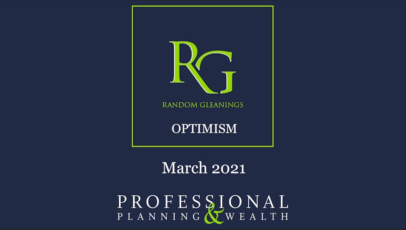 Random Gleanings: Optimism Thumbnail