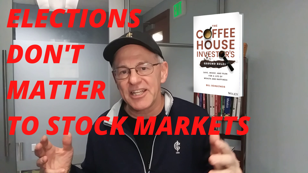Elections Don't Matter to Stock Markets!  The Coffeehouse Investor Thumbnail