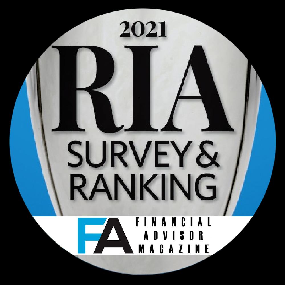 Investec - Financial Advisor Magazine RIA Survey and Ranking, 2021