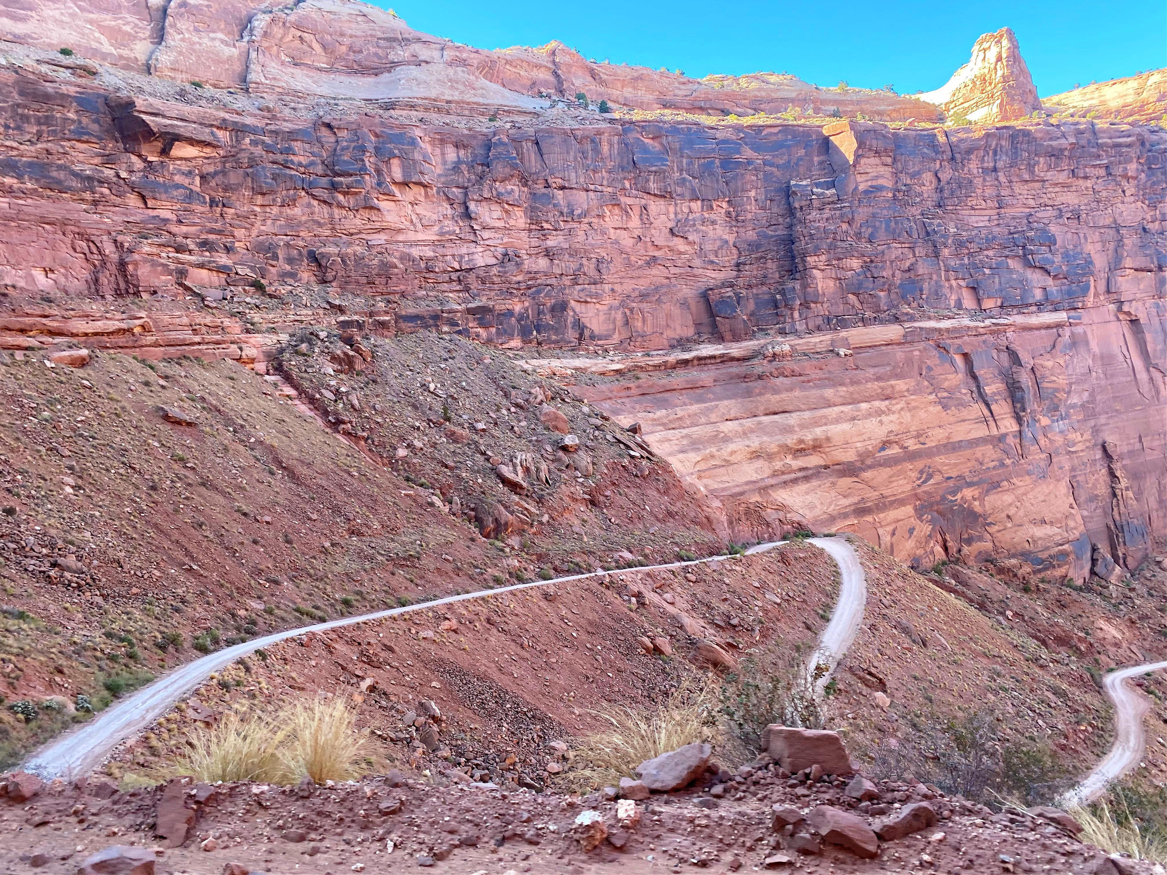 Shafer Trail - Canyonlands, Utah