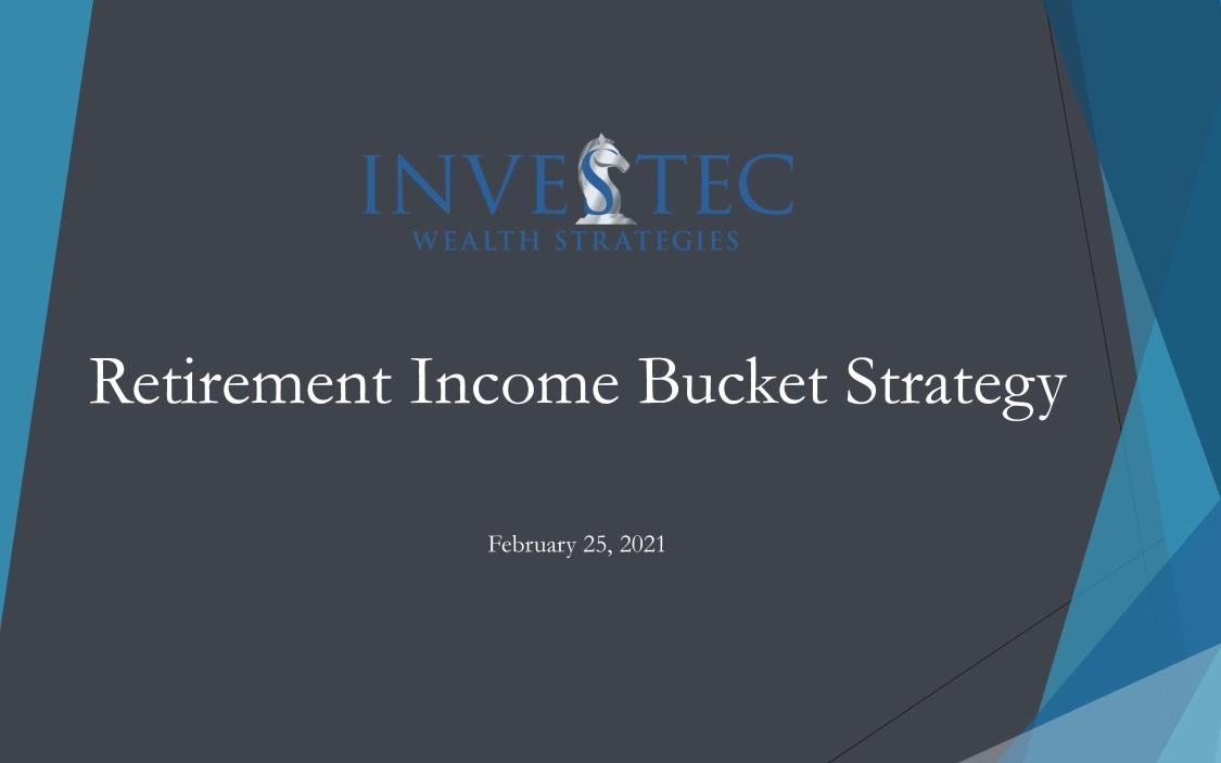 Investec's Retirement Income Bucket Approach – Webinar Replay Thumbnail