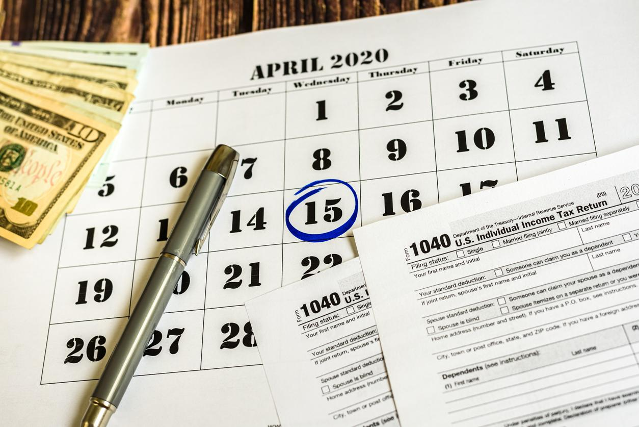 What can I do if I can't file my income taxes by April 15, 2020? Thumbnail