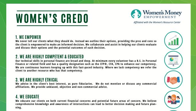 The Woman's Money Empowerment Credo Thumbnail