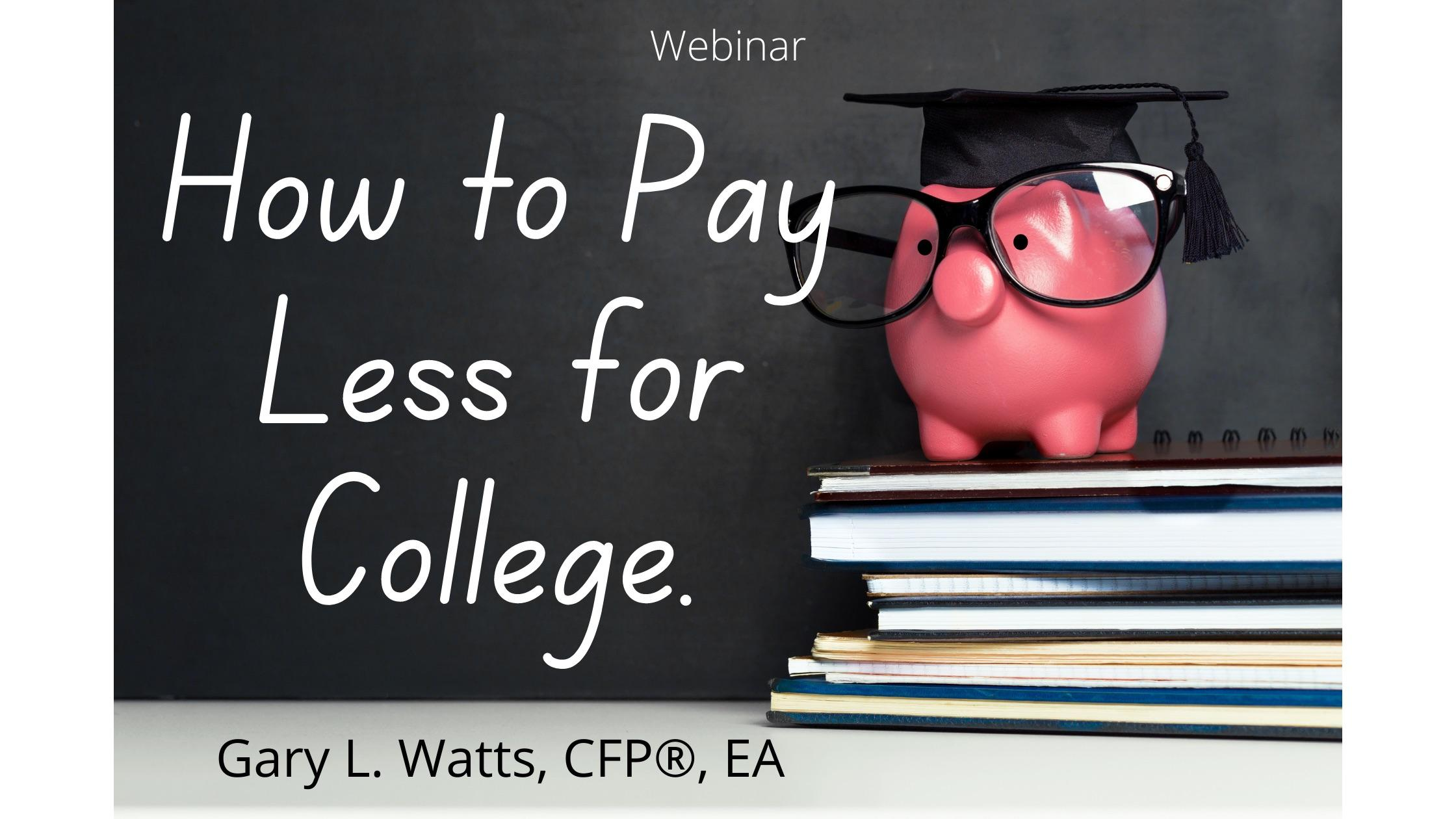 How to Pay Less for College Thumbnail