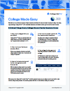 5 Critical Things Every College-Bound Family Needs to Know Thumbnail