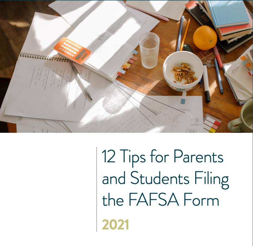 12 FAFSA Tips Checklist Thumbnail