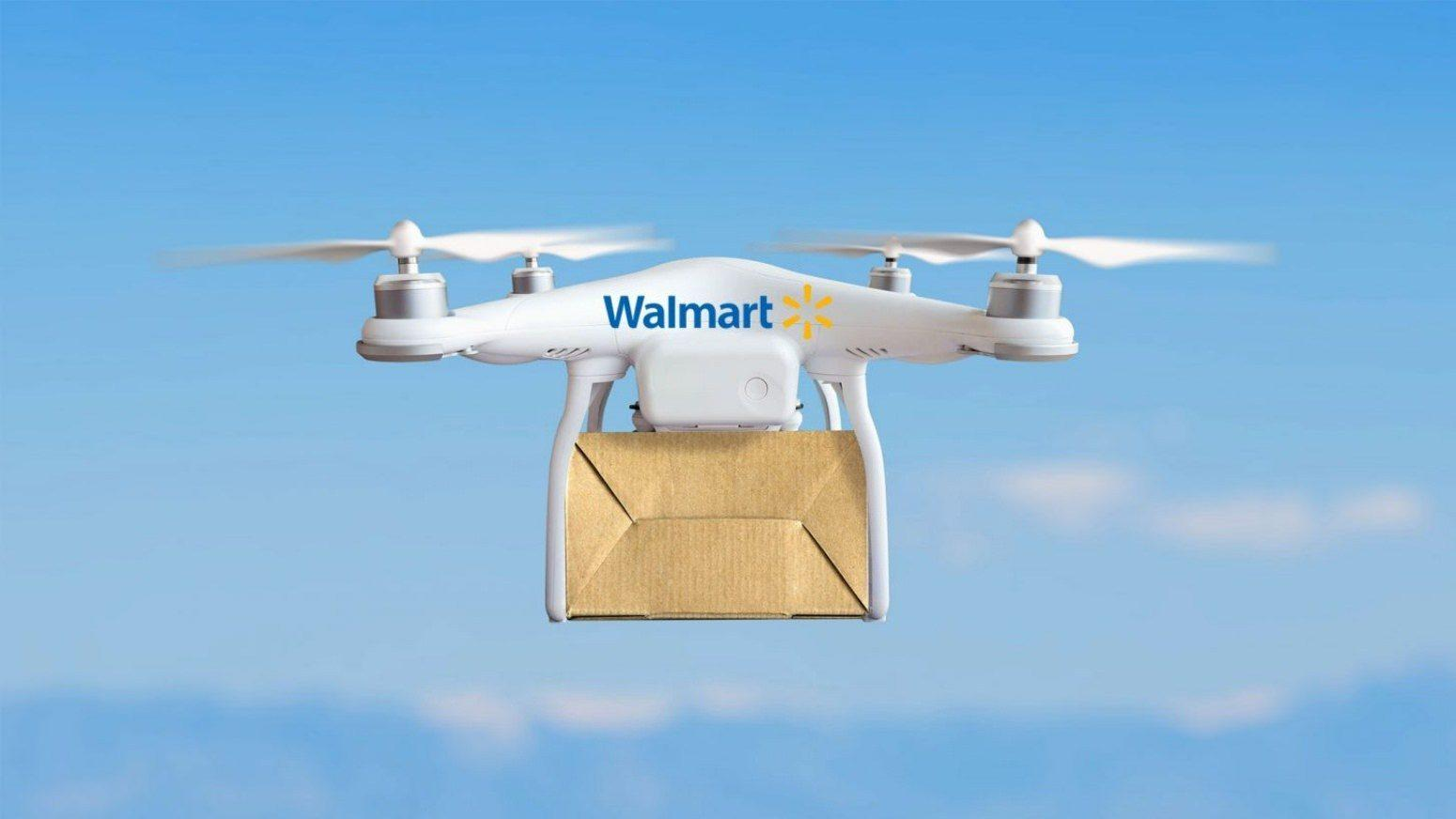 Walmart signs drone deals to keep up with Amazon  Thumbnail