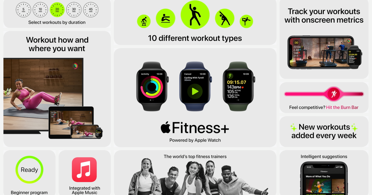 Apple Fitness+ launches today  Thumbnail