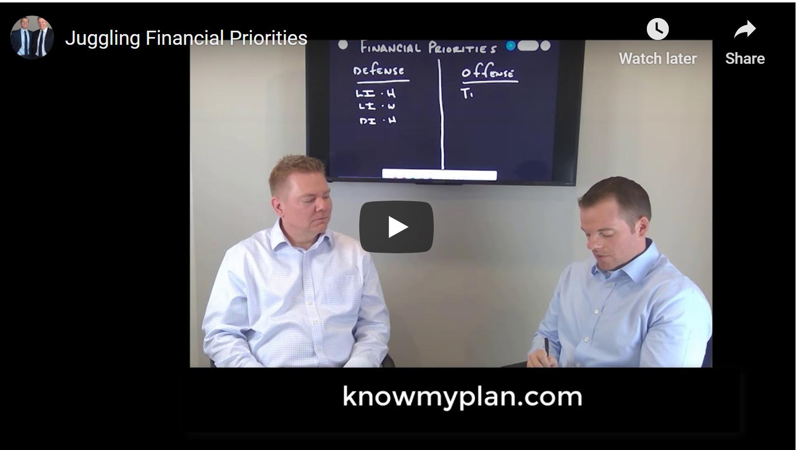 Juggling Financial Priorities Thumbnail