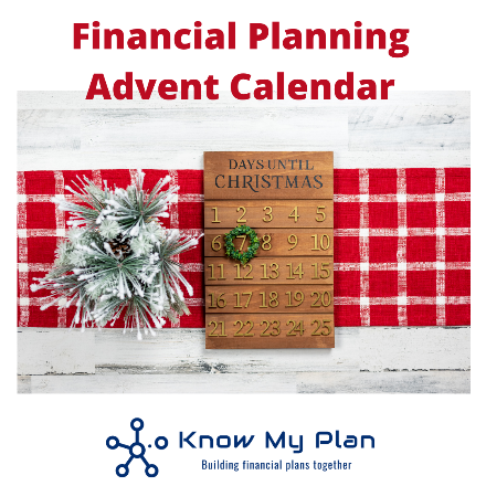 2020 Financial Advent Calendar Thumbnail