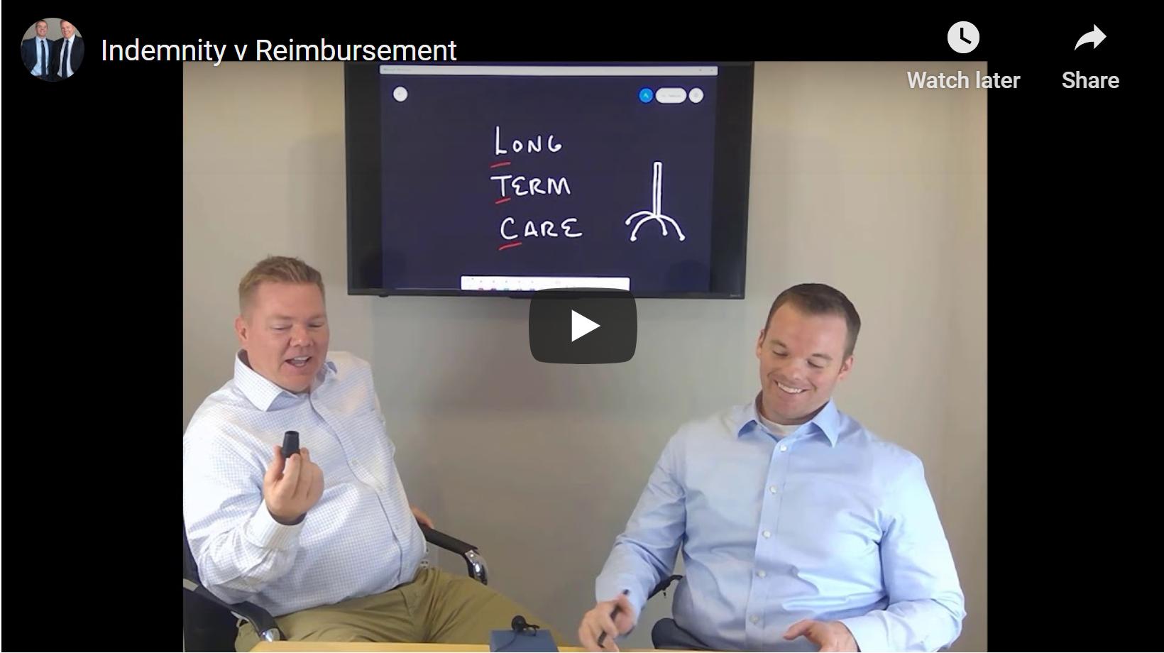 Long Term Care, Part II:  Indemnity v. Reimbursement Thumbnail