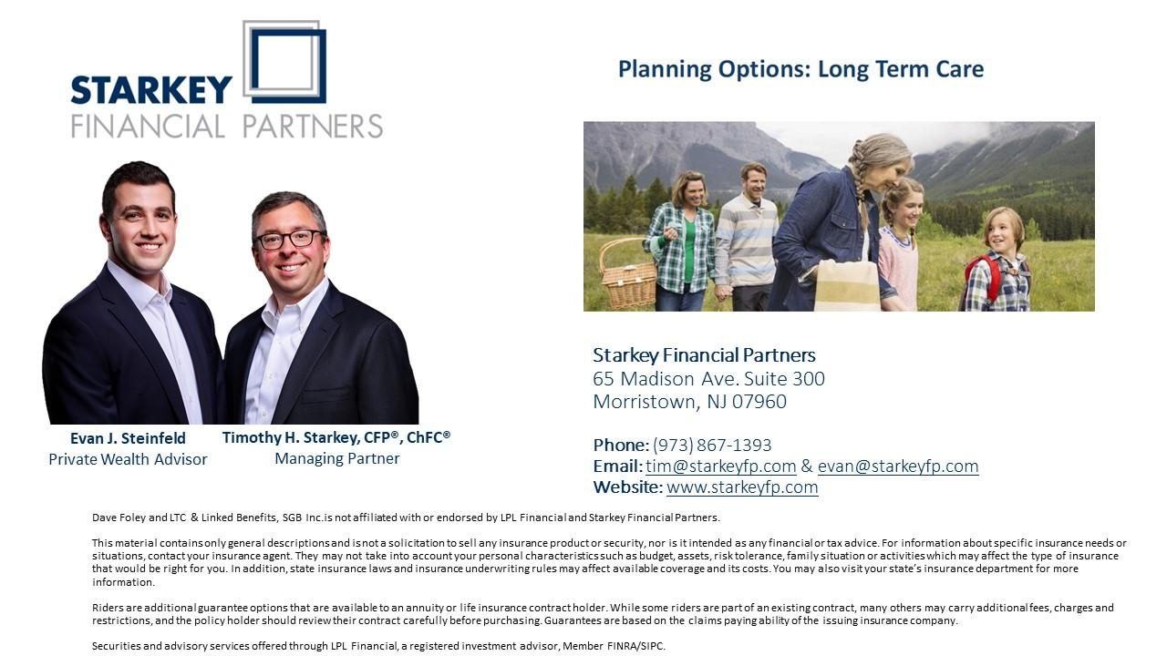 Planning Options: Long Term Care Thumbnail