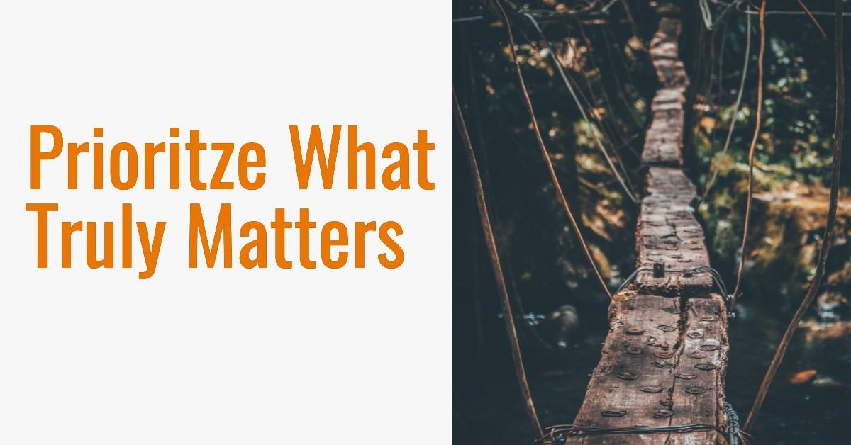 Three Powerful Questions to Prioritize What Truly Matters Thumbnail
