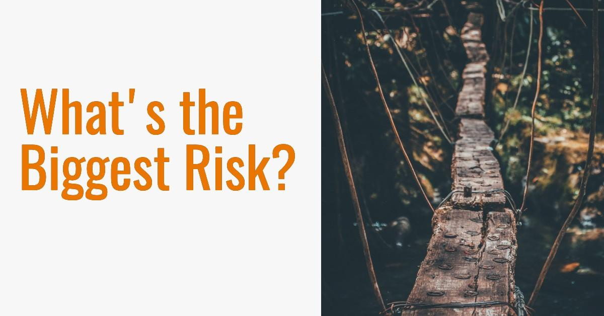 What's the Biggest Risk to Your Financial Plan? It's probably not what you think! Thumbnail