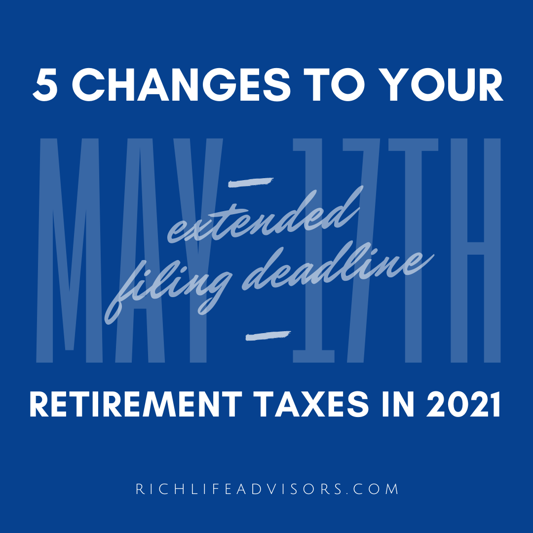 Five Changes to Your Retirement Taxes In 2021 Thumbnail
