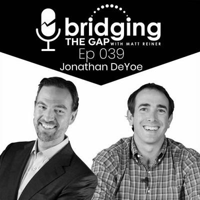 Podcast: Bridging the Gap | Interview with Jonathan DeYoe Thumbnail