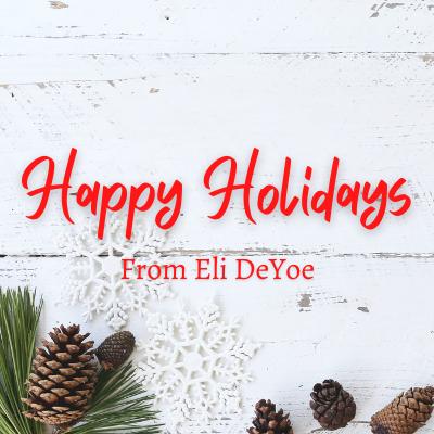 [VIDEO] Happy Holidays from Eli DeYoe! Thumbnail