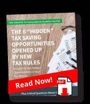 6 Hidden Tax Savings