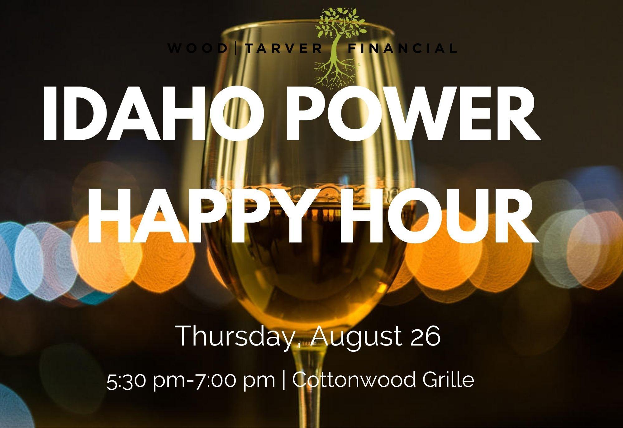 Idaho Power Happy Hour  Thumbnail
