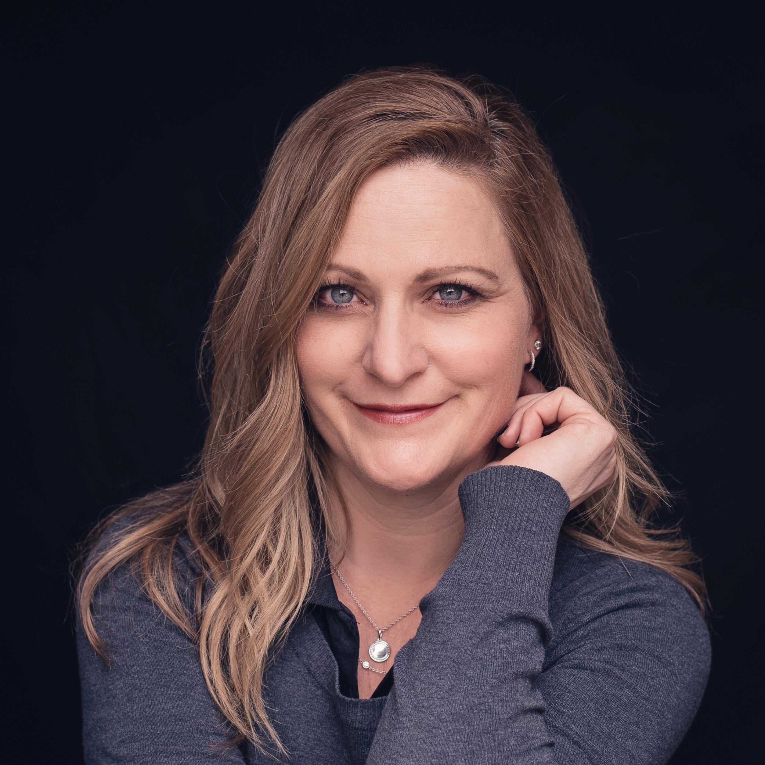 Kristi Saucerman headshot & illustration Boise, ID | Wood Tarver Financial