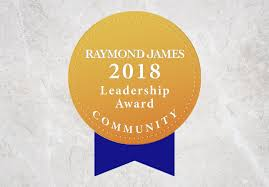 Raymond James Leadership Award medal logo Boise, ID | Wood Tarver Financial