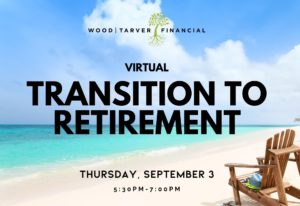 Virtual Transition to Retirement event