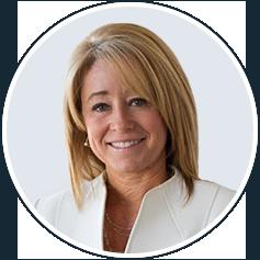 Sylvia Hampel headshot & illustration Boise, ID | Wood Tarver Financial