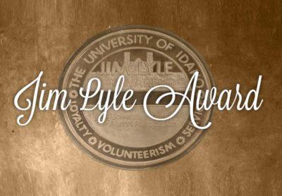 University of Idaho Jim Lyle Award logo Boise, ID | Wood Tarver Financial