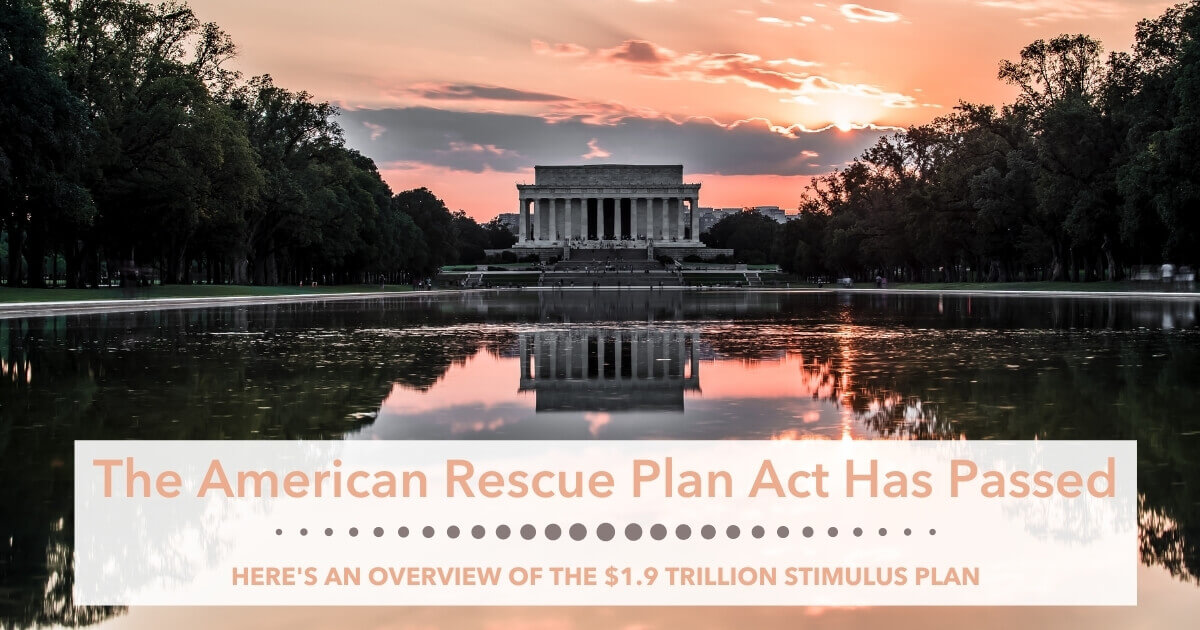 The American rescue has has not passed congress