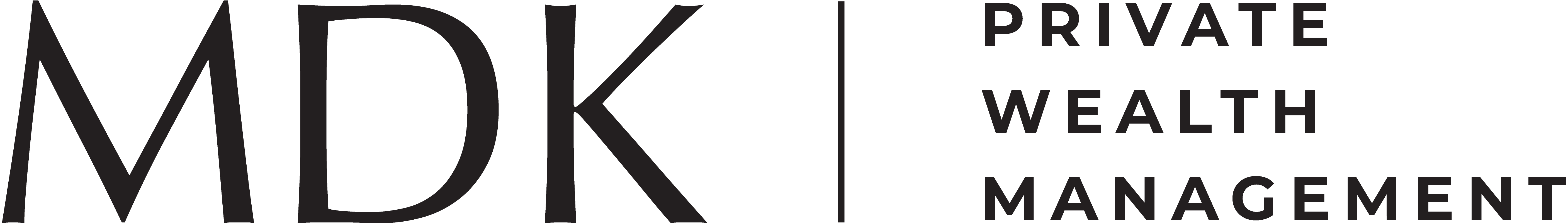 Logo for MDK | Private Wealth Management