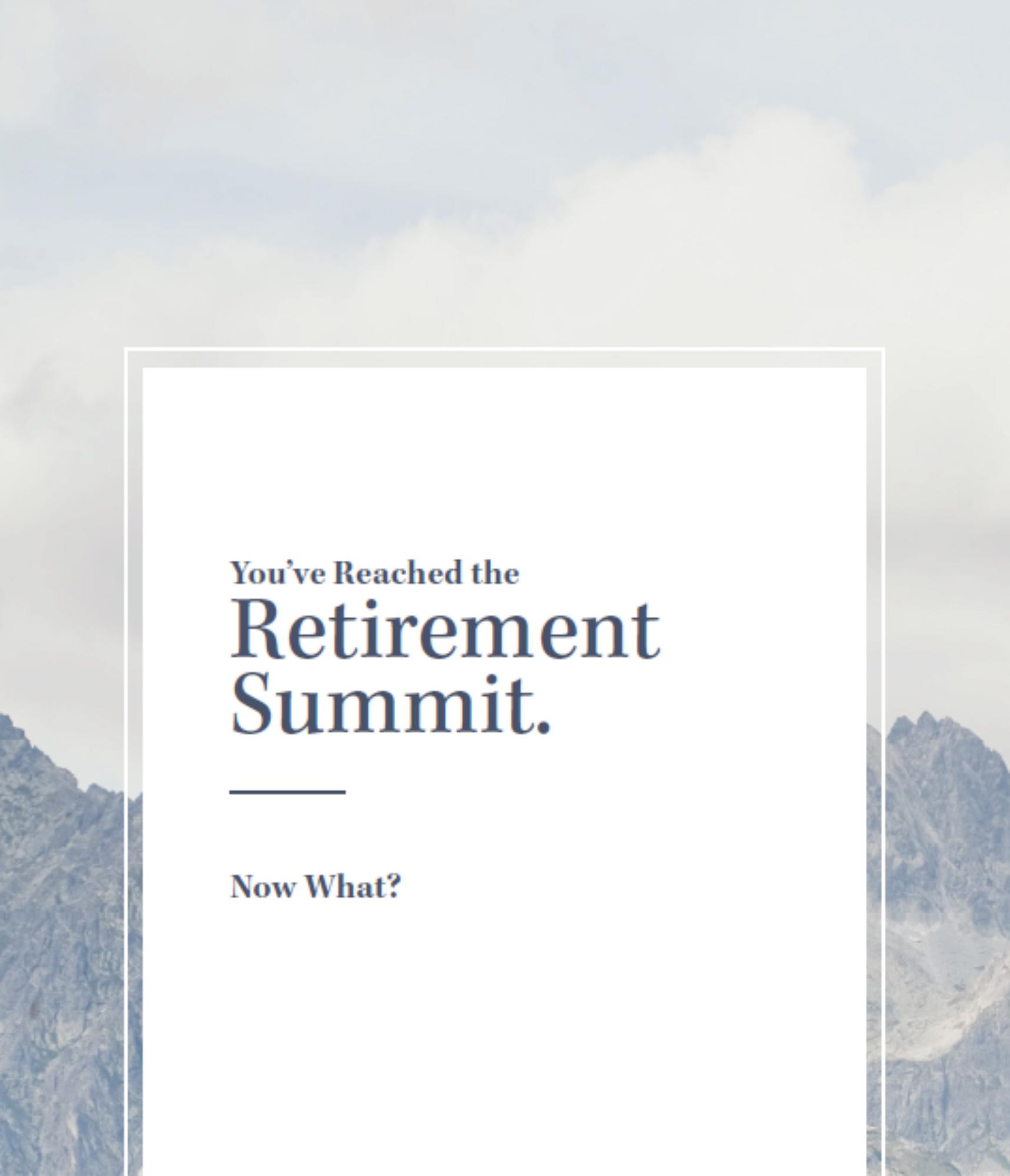 Mount Retirement