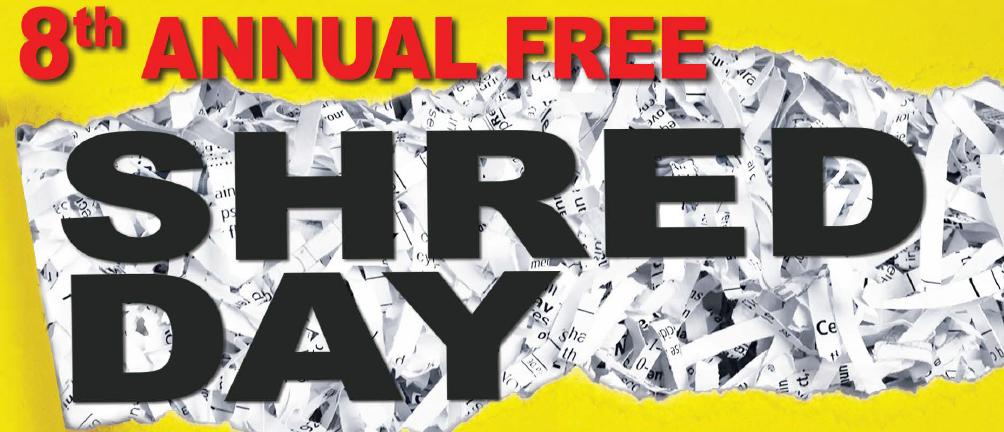 8th Annual Free Community Shred Event Thumbnail