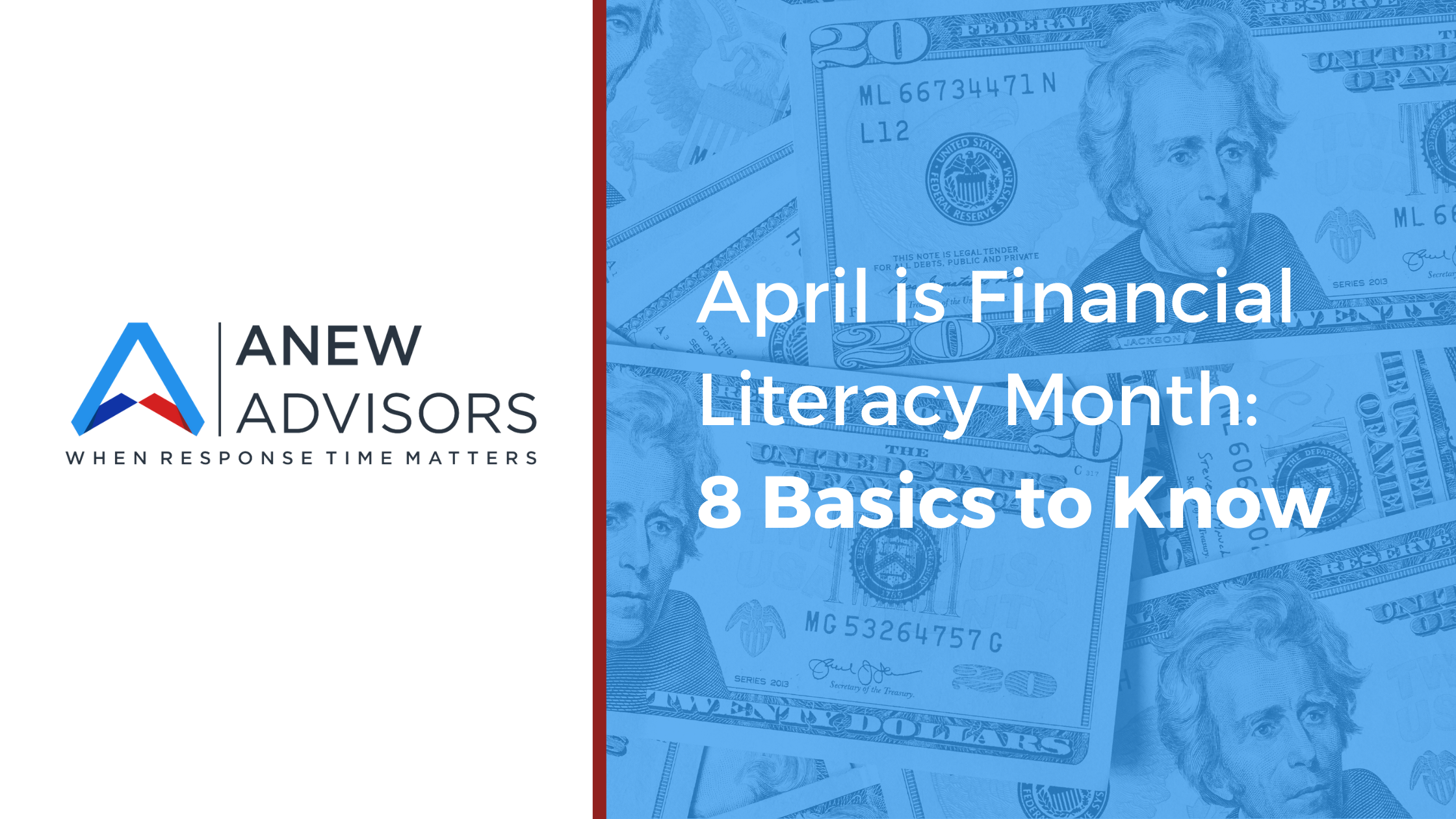 April is Financial Literacy Month: 8 Basics to Know Thumbnail