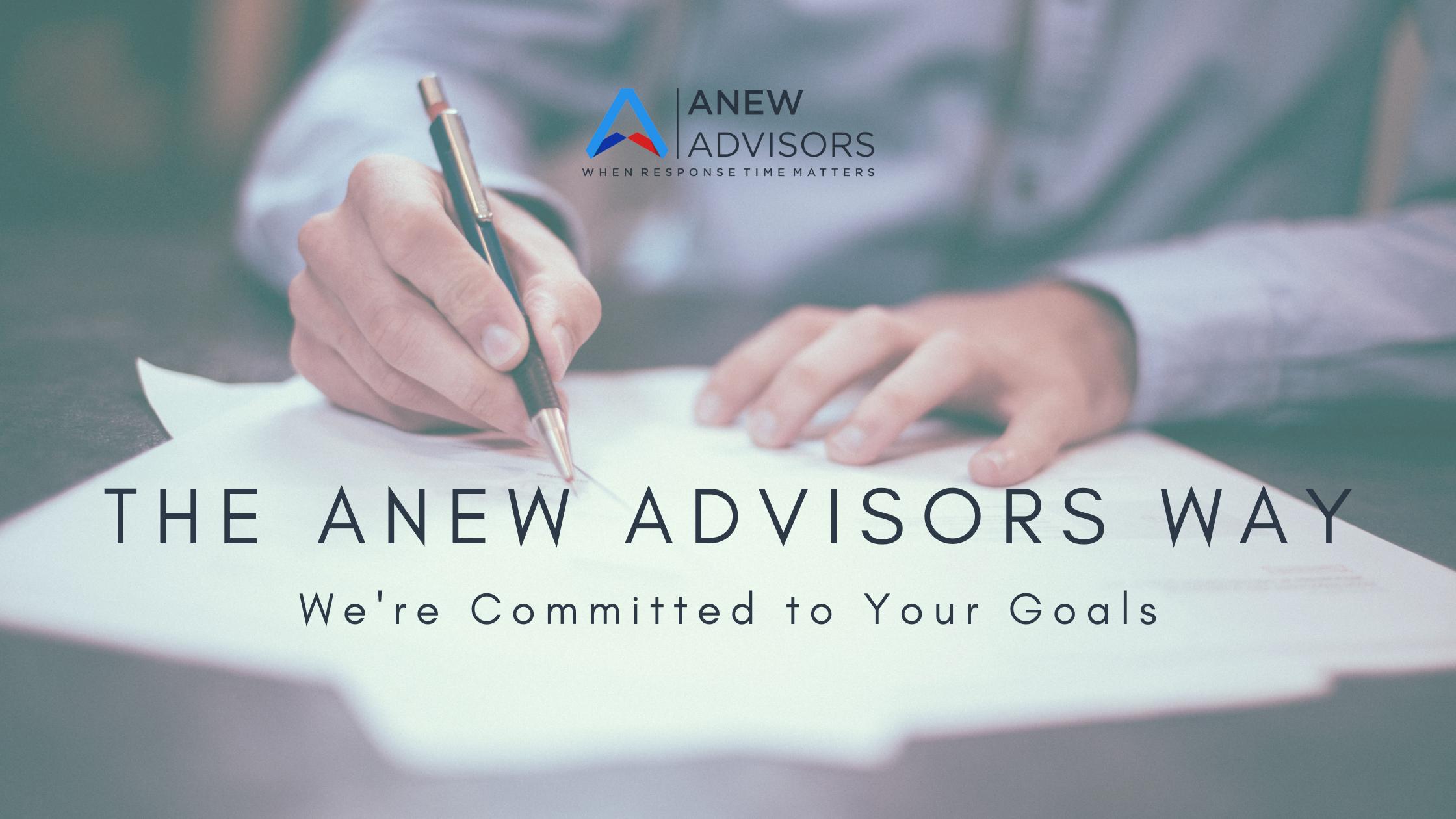 the anew advisors way
