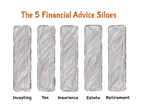 The 5 Financial Advice Siloes