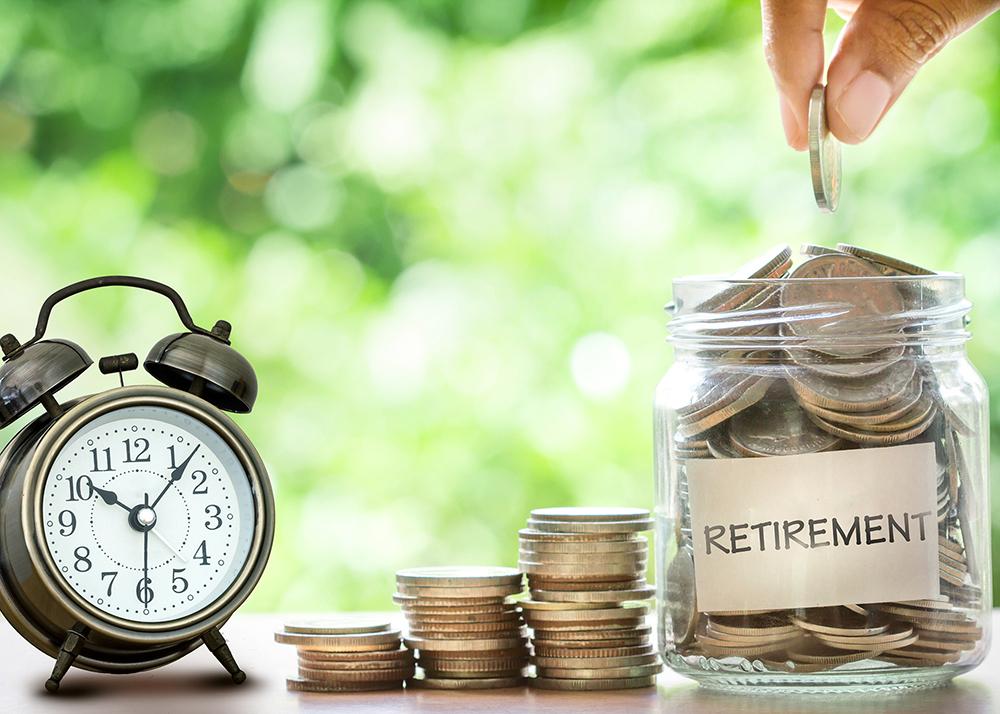 Coin retirement jar