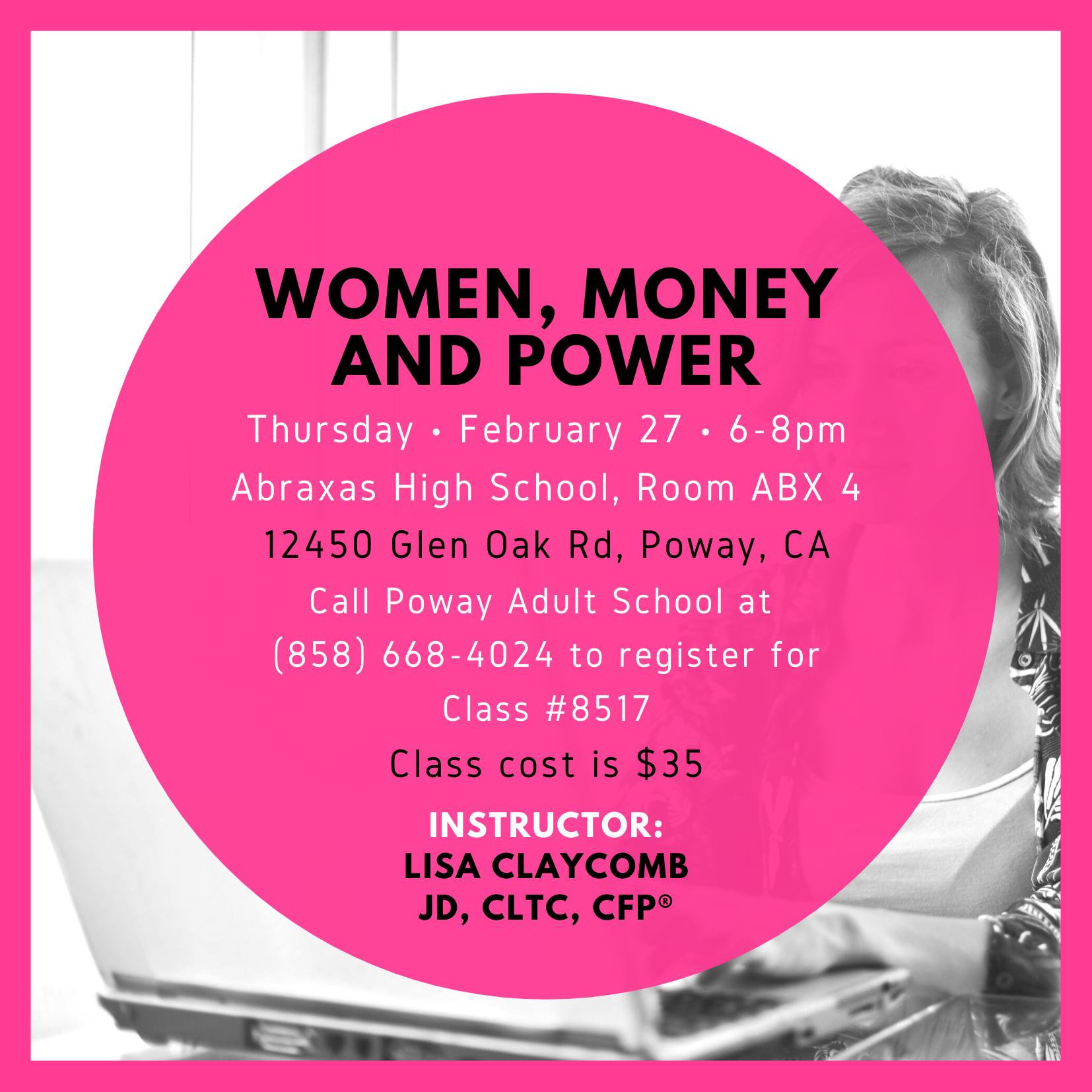 Women, Money and Power Thumbnail