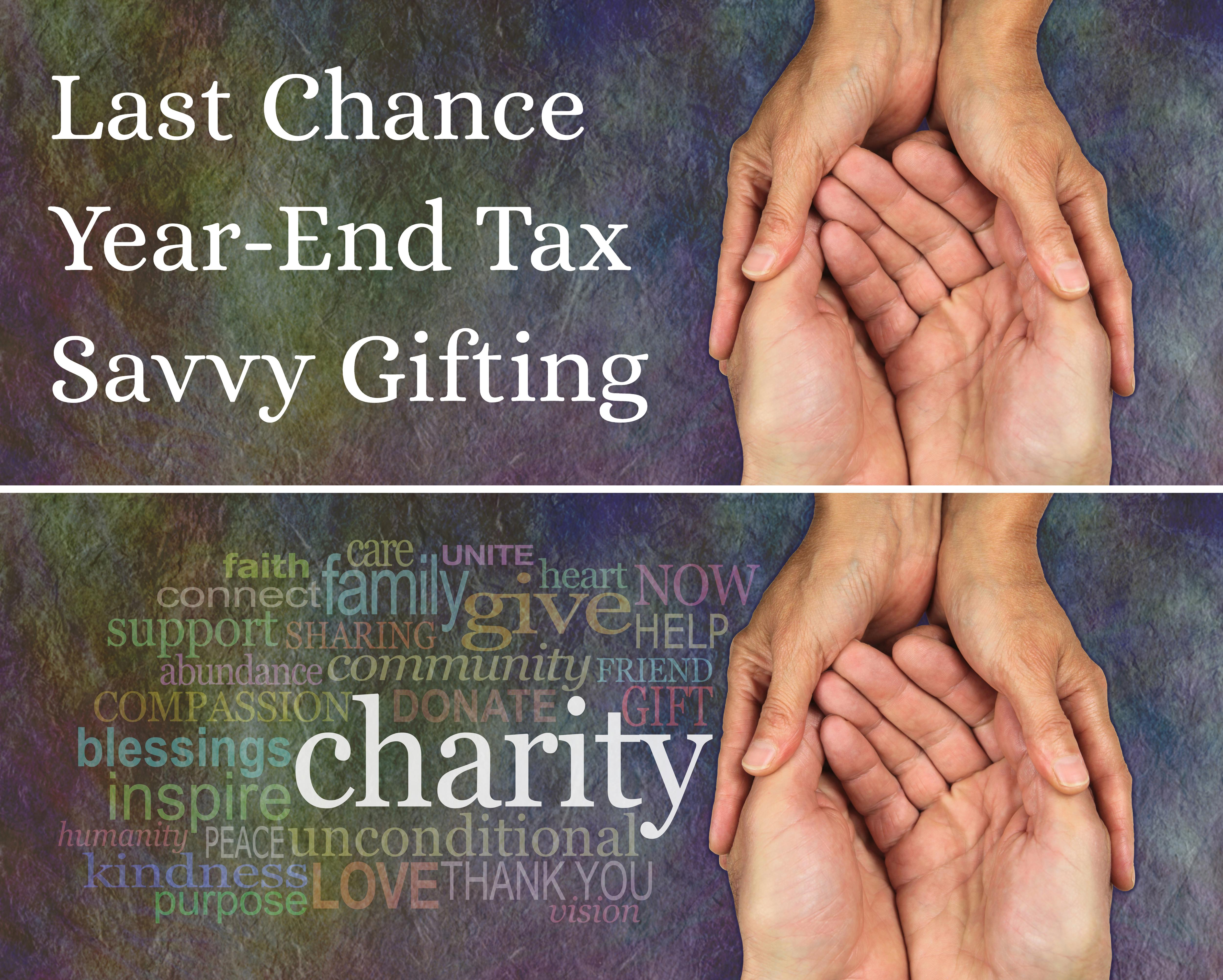 Tax-Wise Tips For Charitable Giving at Year-End in 2020 Thumbnail