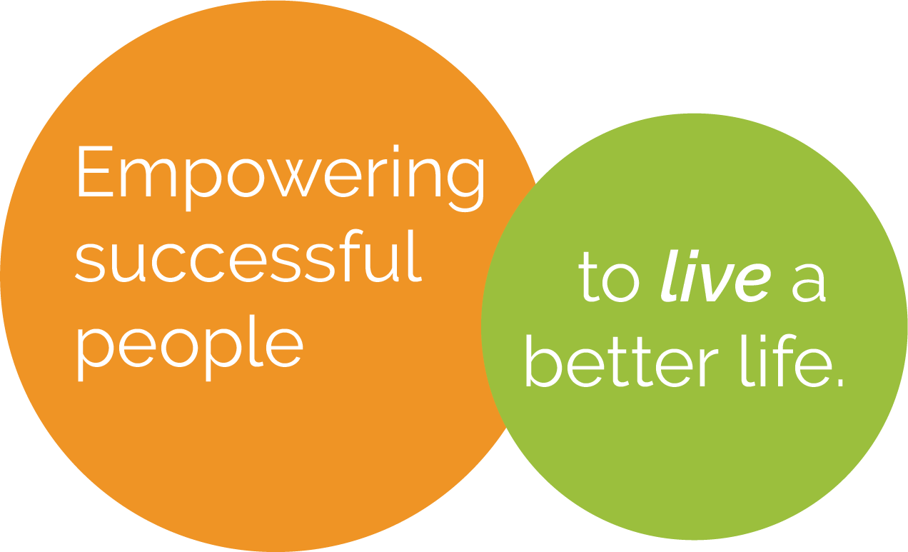Empowering successful people to live a better life.