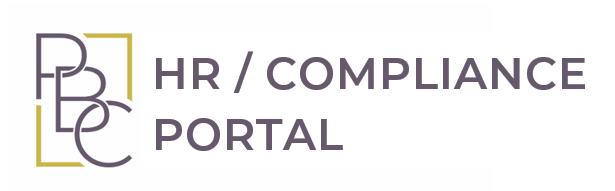 PBC HR Compliance Portal