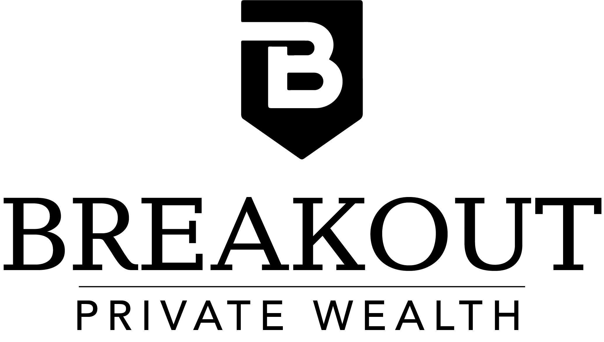 Logo for Breakout Private Wealth