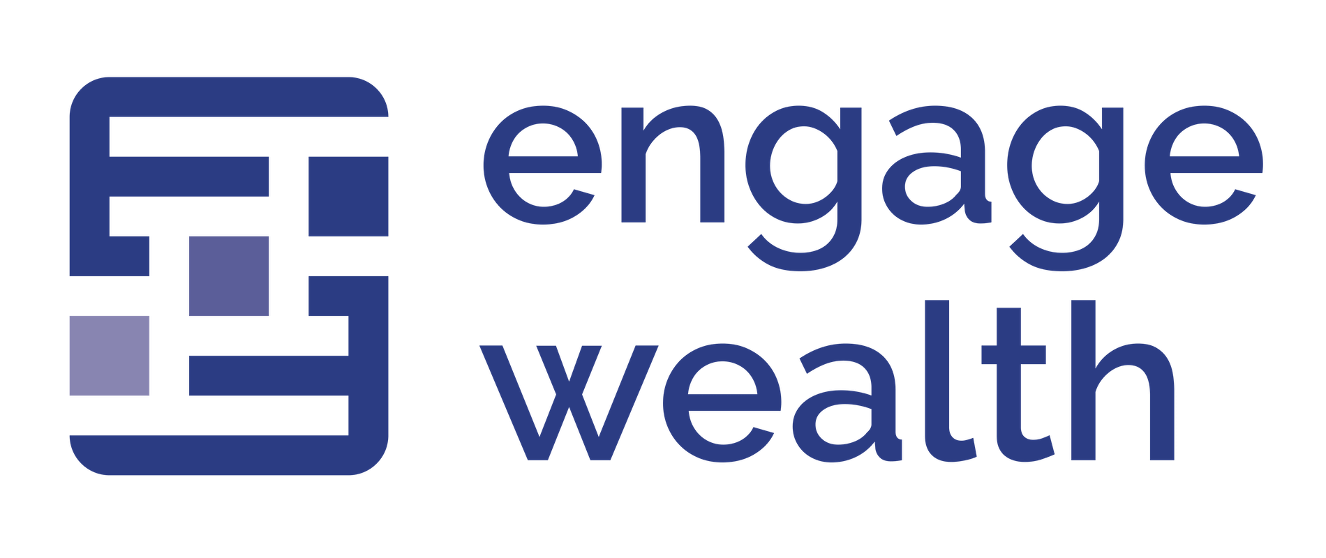 Logo for Engage Wealth Group, LLC. - Fee-Only Fiduciary Advisors