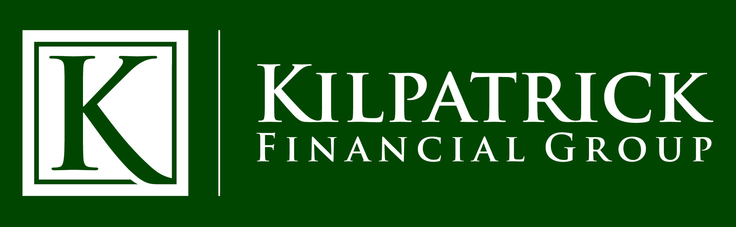 Logo for Kilpatrick Financial Group