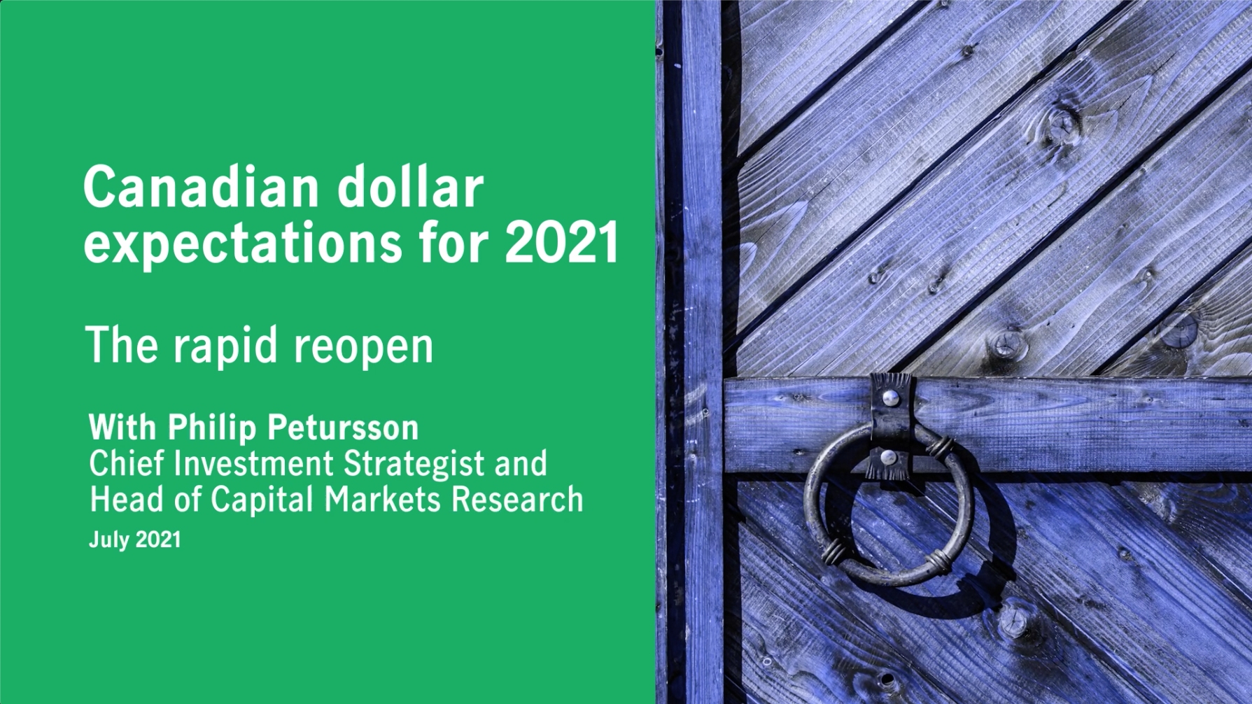 Canadian dollar expectations for 2021 Thumbnail