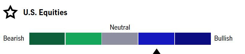 US Equities - Neutral/Bullish