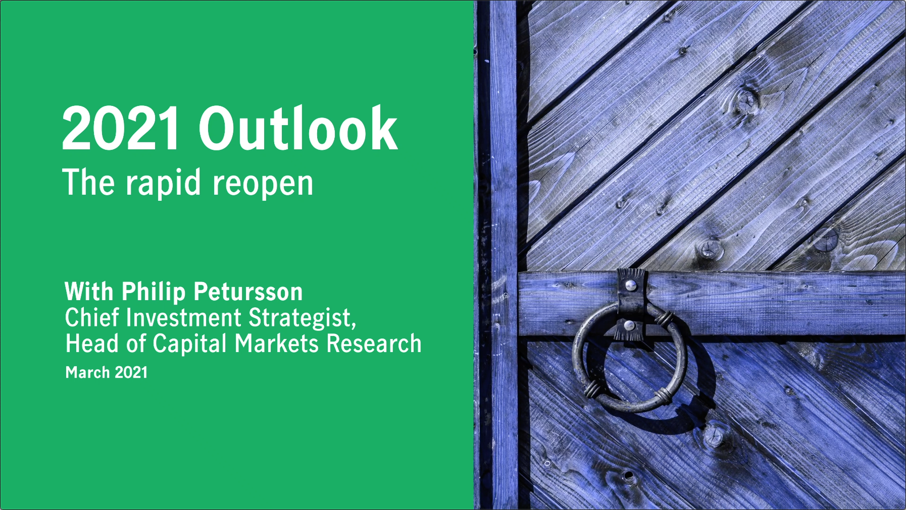Q2 2021 outlook: The rapid reopen Thumbnail