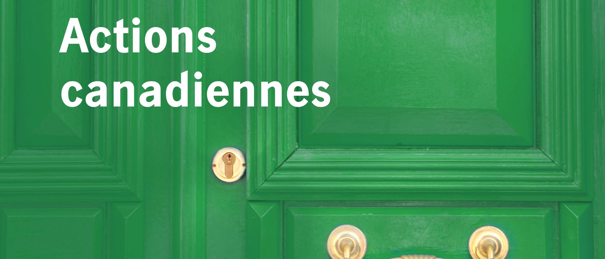 Actions canadiennes Thumbnail