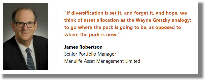 "Image: Quote ""If diversification is set it and forget it..."""